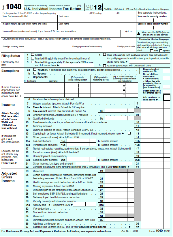 2010 form 1040ez for 1040ez tax table 2012